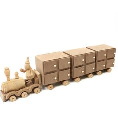 Wooden Train Advent Calendar 55.5 Cm | Hobbycraft