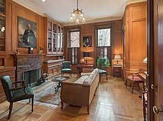 nice paneled room