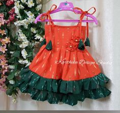 baby frock call or whatsapp at 09483056990 Cotton Frocks For Kids, Frocks For Girls, Dresses Kids Girl, Frocks For Babies, Girls Frock Design, Baby Dress Design, Kids Dress Wear, Kids Gown, Baby Frocks Designs