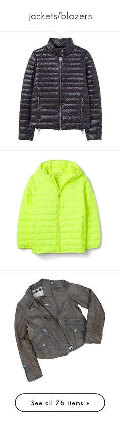 """""""jackets/blazers"""" by catladycarolyn ❤ liked on Polyvore featuring outerwear, jackets, women coats & jackets, snap jacket, zipper jacket, quilted jackets, down filled jacket, zip jacket, coats and puffer jacket"""