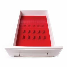 starter kit, red, drawer organ, organizers, kitchen