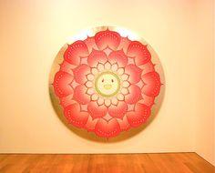 Loving this one! Takashi Murakami's Spirited Flowers & Skulls Exhibit Opens - My Modern Metropolis Kawaii Shop, Kawaii Art, Takashi Murakami Prints, Tokyo, Dark Color Palette, Superflat, Gagosian Gallery, Carved Eggs, Modern Metropolis