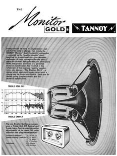 "Tannoy Monitor Gold 15"" - Review at Audio Nostalgia"