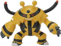 Amazon.com: Pokemon Black & White Takaratomy M Figure - M-143 - Electivire/Elekible: Toys & Games