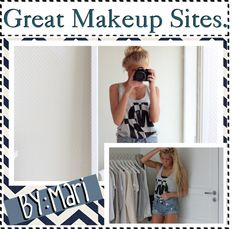 """Great Makeup Sites!"" by teenag3tips ❤ liked on Polyvore"
