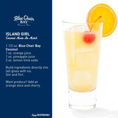 Island Girl.... they named a drink after me!!