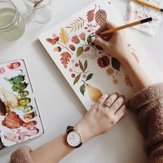 "Oana Befort on Instagram: ""Happy October 1st! I am painting the rainy days away. PS: There are 15 days left to get 15% off your @danielwellington watch, using the code OANABEFORT. ;)"""