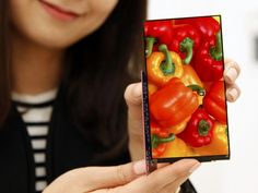 The Full HD LCD panels have only 0.7mm of bezel on either side.