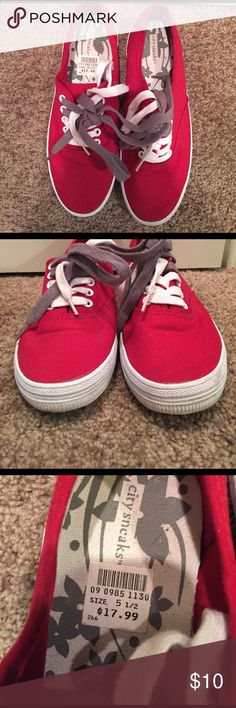 Spotted while shopping on Poshmark: Red Sneakers!! #poshmark #fashion #shopping #style #Shoes