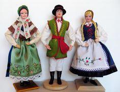 Polish Folk Dolls - Kaszuby