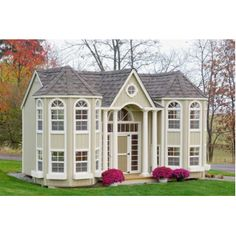 Most amazing playhouse ever!!! It has 2 floors! lol