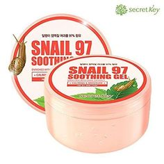 [SECRET KEY] Snail 97 Soothing Gel. ALL IN ONE  Rp 120.000,- . 👉Melembabkan, menghidrasi, menyejukkan 👉Bisa digunakan untuk seluruh tubuh! Wajah, tubuh, rambut dan bagian lain kapanpun kamu mau. 👉Efek melembabkan yang berlimpah, membuat kulitmu nyaman. 👉Teksturnya yang ringan mempersingkat waktu penyerapan gel terhadap kulit dan kulit terasa sejuk dan segar. Kulit pun menjadi sejuk dan segar. 👉Wangi buah yang lembut dan manis.  Penyimpanan disarankan dalam lemari pendingin