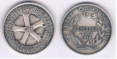 Tema 5. Yıl-1998-çil - GÜMÜŞ HATIRA PARALARI.