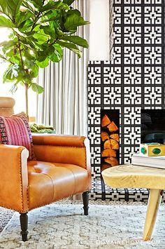 that fireplace! #splendidspaces