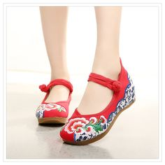 Chinese Embroidered Shoes * Want to know more, click on the image. This Amazon pins is an affiliate link to Amazon.