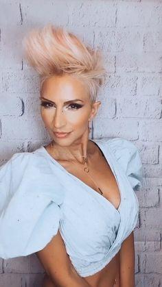Alineh Avanessian(@alineh_a) on TikTok: Pixie 360 #alineh_a #pixiecut #pixiestyle #pixie360 #shorthair #shorthairstyle #youlikemyhair #shorthairgirl #shorthaircut @bumbleandbumble #haircut Short Sides Haircut, Side Haircut, Girl Short Hair, Short Hair Cuts, Pixie Styles, Short Hair Styles, Pixie Cut, Women, Fashion