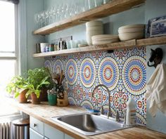 Beautiful Bohemian Kitchen Decor for Cozy Kitchen Inspirations 05 – GooDSGN