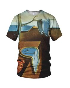 All Over Print Salvador Dalí - The Persistence Of Memory Fashion Mens And Ladies T-Shirt