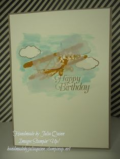 handmade by Julia Quinn  -    Independent Stampin' Up! Demonstrator: Sky is the Limit for JAI challenge