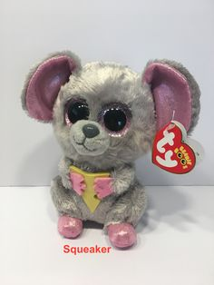 Ty Beanie Boos, Beanie Babies, Big Eyed Animals, Stuffed Toys, Vsco, Teddy Bear, Teen, Space, Girls