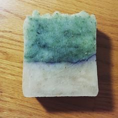 Gooseberry Beach Hot Process Soap - Salt Water, Kelp, Bamboo... Limited Edition, Coconut-Free Formula - Paintbox Soapworks