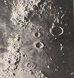 vintage Moon photo moon's surface lunar alps. $10.95, via Etsy.