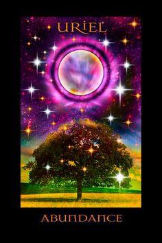 Archangel Uriel Oracle Of Abundance