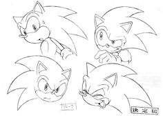 Image - Sonic concept art 2.gif - Sonic News Network, the Sonic Wiki