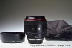 Canon EF 85mm f/1.2L USM Excellent+ #Canon