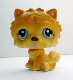 Littlest Pet Shop Chow Chow #117 puppy dog loose