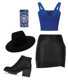 """""""Blue 💙"""" by emerson-lea on Polyvore featuring River Island, Miss Selfridge and rag & bone"""
