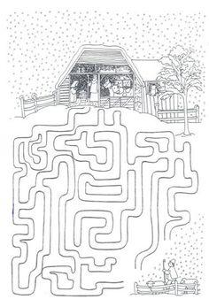 Fun maze activity