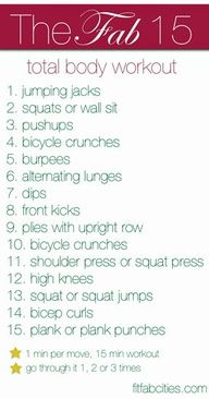 total body home workout circuit - hmmmmmmm.... even once would be awesome! @Sara Eriksson Cooke, @Anna Totten Milich... this is going to be on next weeks schedule :)