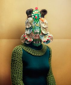 From Itsnicethat.com Photography: Marie Rime's stunning series of characters wearing board game masks