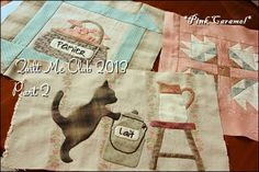 Patchwork *Pink Caramel*: Quilt Me Club 2013 part 2