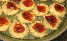 Savory Cheddar Cheese Thumbprint Cookies