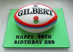 rugby ball cake tutorial - Szukaj w Google