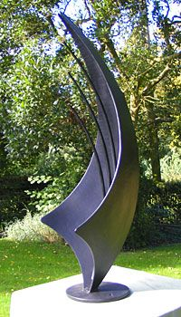 sculpture for garden in a contemporary style