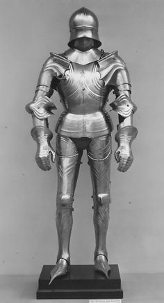 Gothic armor. 15th and 19th century.
