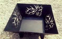 Elk Fire Pit #firepit Dun4Me is the marketplace for custom made items built to your exact specifications by talented makers. Get bids for free, no obligation!