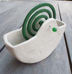 Garten Keramik - Gefäß für Mückenspiralen