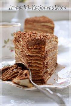 ВКУСНО С АРМУШИК - Торт «Микадо»
