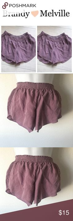 🌸BRANDY MELVILLE RAYON SHORTS PINK🌸 🌸BRANDY MELVILLE RAYON SHORTS🌸  🌸ONE SIZE FITS SMALL BEST🌸  🌸100%RAYON  HAND WASH 🌸  🌸SLIGHTLY SHEER MAUVE CUTE🌸  🌸SOLD OUT 🌸 🌸EVERYWHERE 8/10 CONDTION🌸 Brandy Melville Shorts