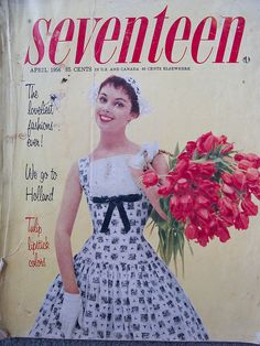 Seventeen, April 1956, via Flickr.