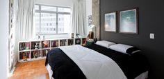 Com 43 m², apê ganha espaço através da integração de ambientes