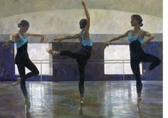 Dancing with Darcey: artist Fletcher Sibthorp. Fascinated by human motion,this Hertfordshire-born artist has become a renowned painter of dancers. Ballet Painting, Dance Paintings, Music Painting, Ballet Art, Selling Paintings, Ballet Dancers, Painting Art, Ballerina Kunst, Tate Britain