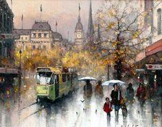 Ramon Ward-Thompson_Британский трамвай