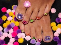 Get this look with colour gloss neons and minx!! Hot Beauty, Nail Art and Fashion for July 2012