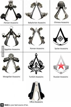 Finally, someone agrees...the Assassin's Creed symbol looks like a staple remover.