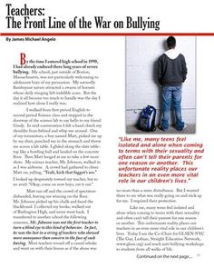 #Teachers - Frontline on the War on #Bullying. http://sisgigroup.org/2013/07/bgi-summer-2013/ #youth #education #schools